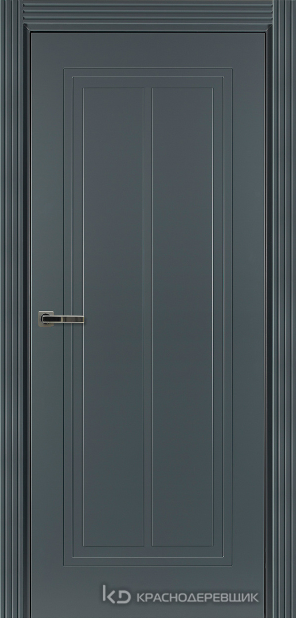750 MDF ЭмальСерый Дверь 754 ДГ 21- 9 (пр/л), с фурн.