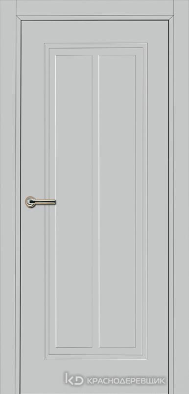 750 MDF ЭмальСветлоСерый Дверь 754 ДГ 21- 9 (пр/л), с фурн.