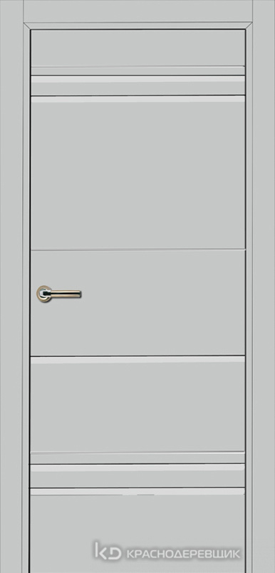750 MDF ЭмальСветлоСерый Дверь 758 ДГ 21- 9 (пр/л), с фурн.