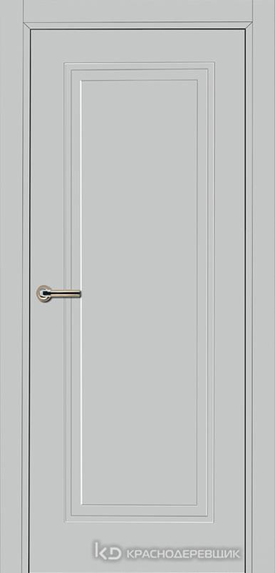 750 MDF ЭмальСветлоСерый Дверь 751 ДГ 21- 9 (пр/л), с фурн.