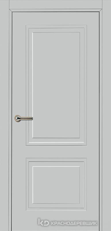 750 MDF ЭмальСветлоСерый Дверь 752 ДГ 21- 9 (пр/л), с фурн.