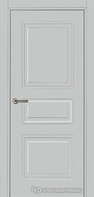 750 MDF ЭмальСветлоСерый Дверь 753 ДГ 21- 9 (пр/л), с фурн.