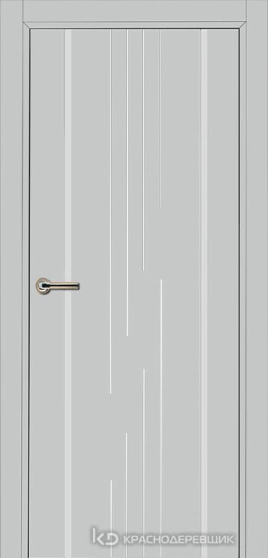 750 MDF ЭмальСветлоСерый Дверь 757 ДГ 21- 9 (пр/л), с фурн.