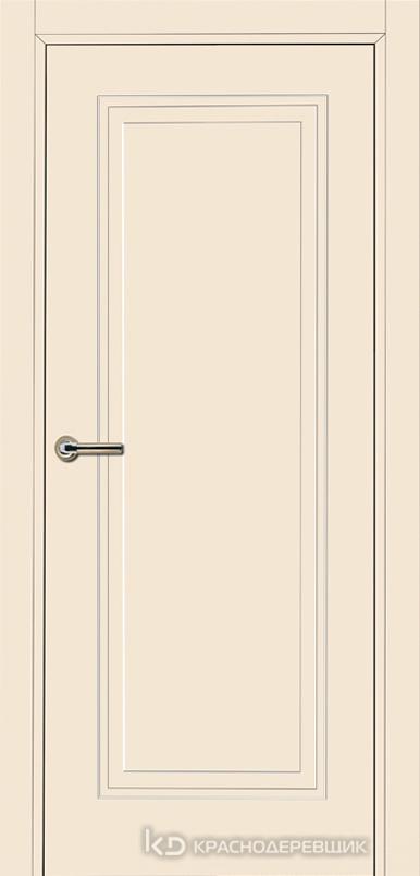 750 MDF ЭмальЖемчужный Дверь 751 ДГ 21- 9 (пр/л), с фурн.