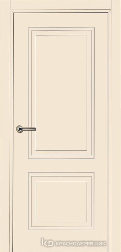 750 MDF ЭмальЖемчужный Дверь 752 ДГ 21- 9 (пр/л), с фурн.