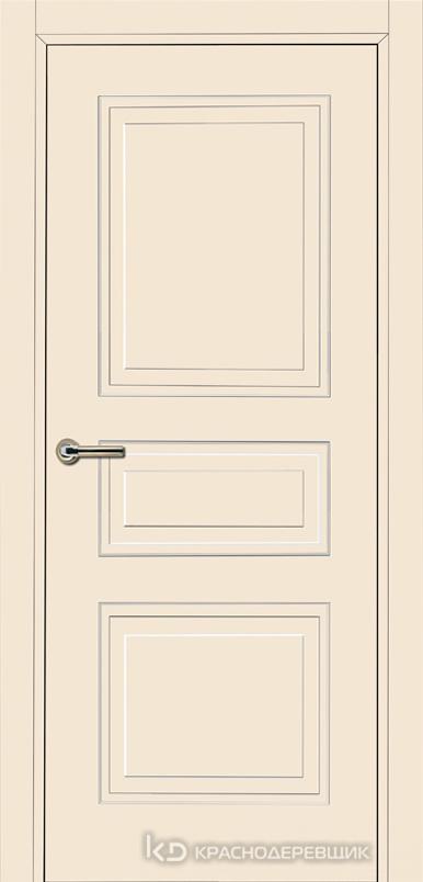 750 MDF ЭмальЖемчужный Дверь 753 ДГ 21- 9 (пр/л), с фурн.