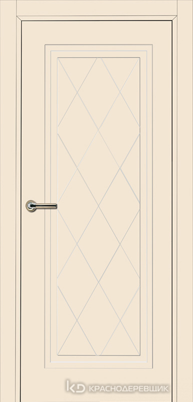 750 MDF ЭмальЖемчужный Дверь 755 ДГ 21- 9 (пр/л), с фурн.
