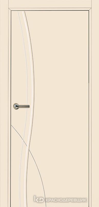750 MDF ЭмальЖемчужный Дверь 756 ДГ 21- 9 (пр/л), с фурн.