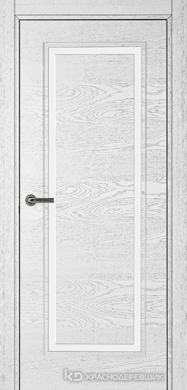 770 ШпонЭмальБелый Дверь 771 ДГ 21- 9 (пр/л), с фурн.