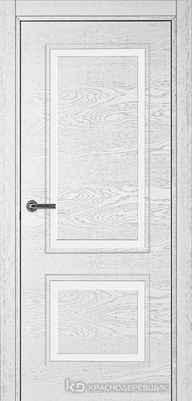 770 ШпонЭмальБелый Дверь 772 ДГ 21- 9 (пр/л), с фурн.