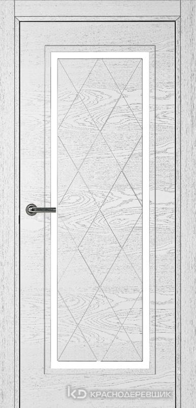 770 ШпонЭмальБелый Дверь 775 ДГ 21- 9 (пр/л), с фурн.