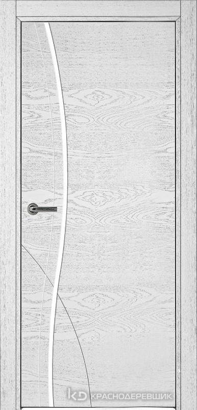 770 ШпонЭмальБелый Дверь 776 ДГ 21- 9 (пр/л), с фурн.
