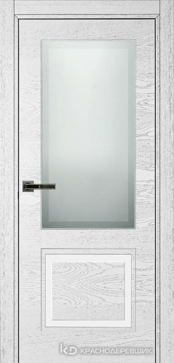 770 ШпонЭмальБелый Дверь 772.1 ДО 21- 9 (пр/л), с фурн. СтеклоМатПсевдофацет