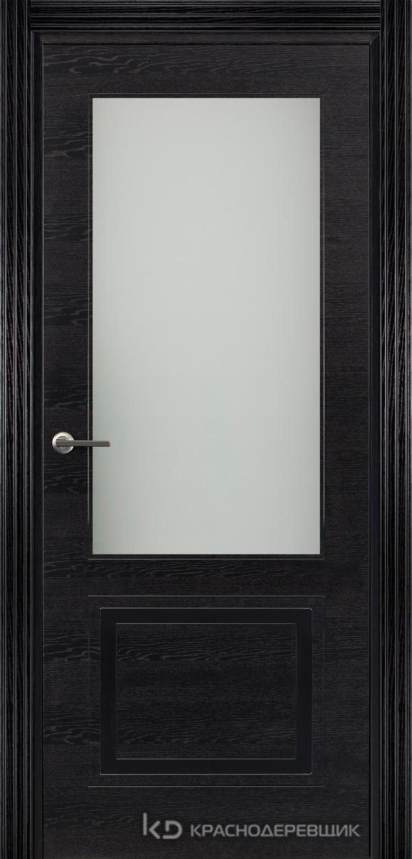 770 ШпонЭмальЧерный Дверь 772.1 ДО 21- 9 (пр/л), с фурн. СтеклоМатПсевдофацет