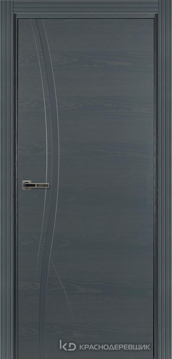 770 ШпонЭмальСерый Дверь 776 ДГ 21- 9 (пр/л), с фурн.