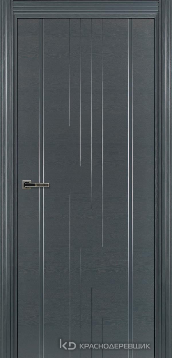 770 ШпонЭмальСерый Дверь 777 ДГ 21- 9 (пр/л), с фурн.