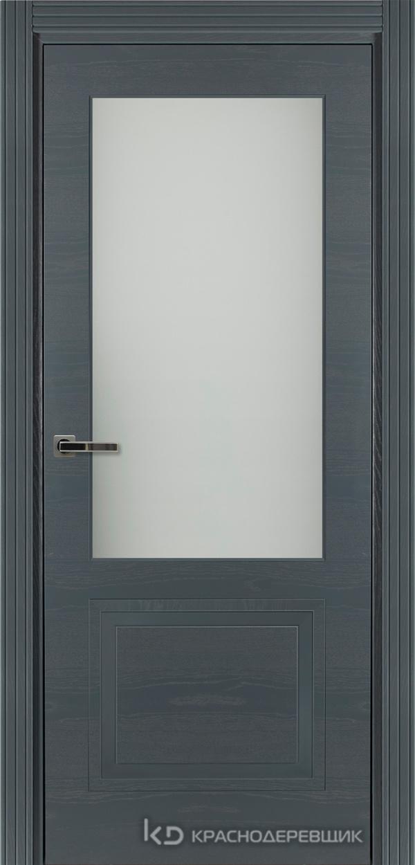 770 ШпонЭмальСерый Дверь 772.1 ДО 21- 9 (пр/л), с фурн. СтеклоМатПсевдофацет