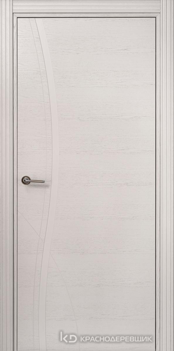 770 ШпонЭмальСветлоСерый Дверь 776 ДГ 21- 9 (пр/л), с фурн.