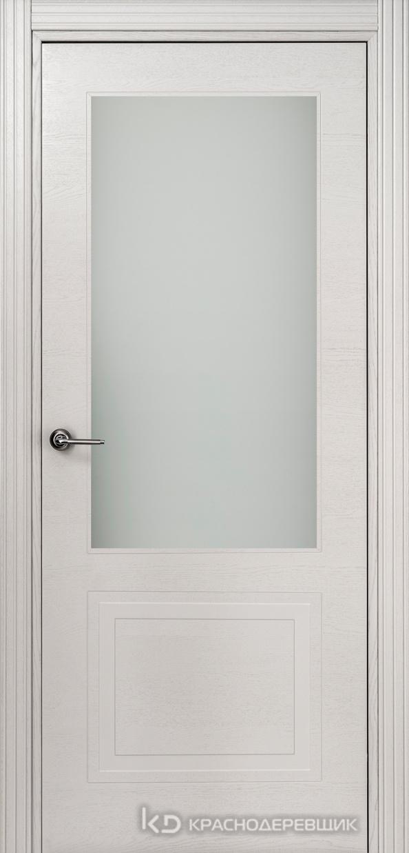770 ШпонЭмальСветлоСерый Дверь 772.1 ДО 21- 9 (пр/л), с фурн. СтеклоМатПсевдофацет