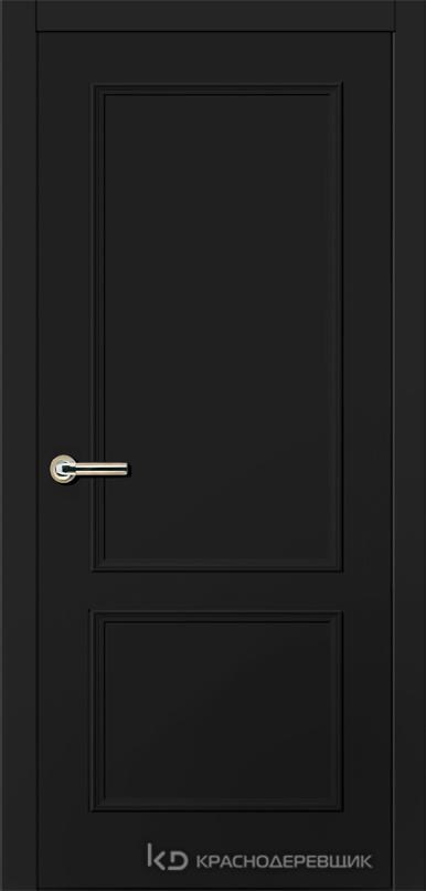 790 MDF ЭмальЧерный Дверь 792 ДГ 21- 9 (пр/л), с фурн.