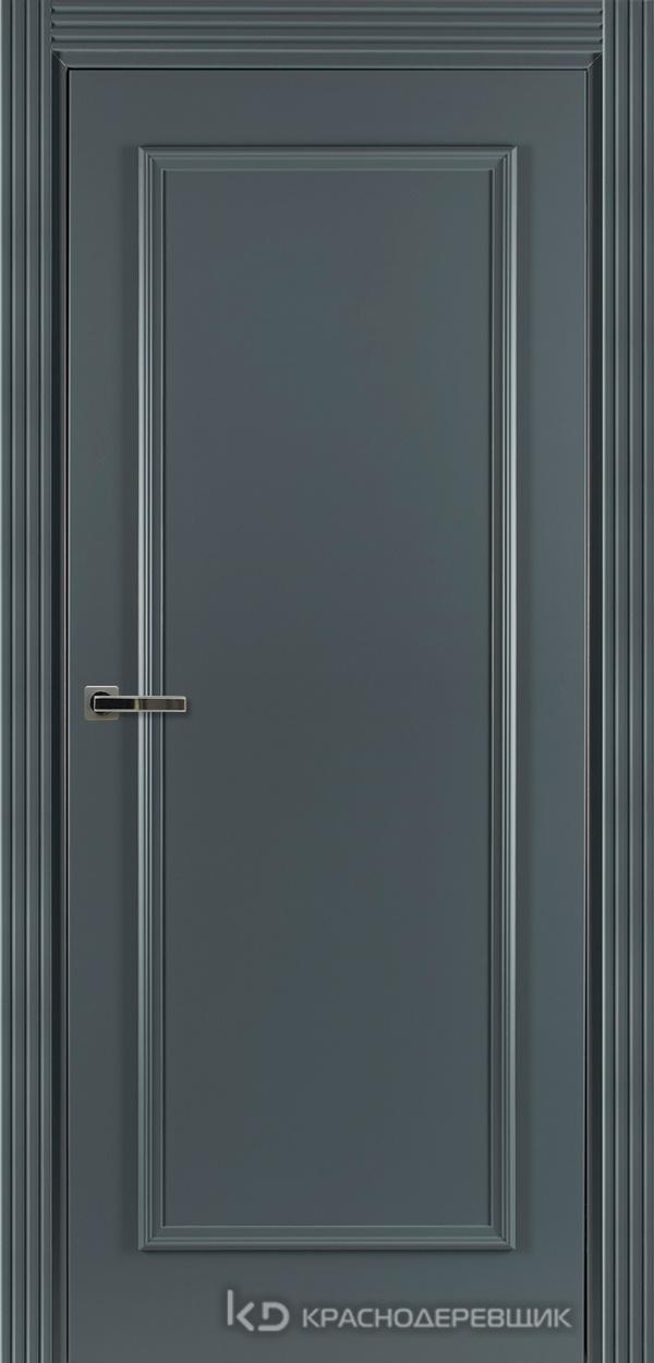 790 MDF ЭмальСерый Дверь 791 ДГ 21- 9 (пр/л), с фурн.