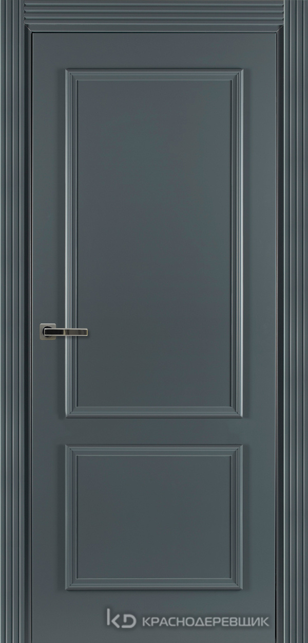 790 MDF ЭмальСерый Дверь 792 ДГ 21- 9 (пр/л), с фурн.