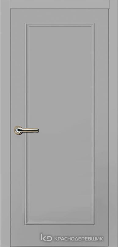 790 MDF ЭмальСветлоСерый Дверь 791 ДГ 21- 9 (пр/л), с фурн.