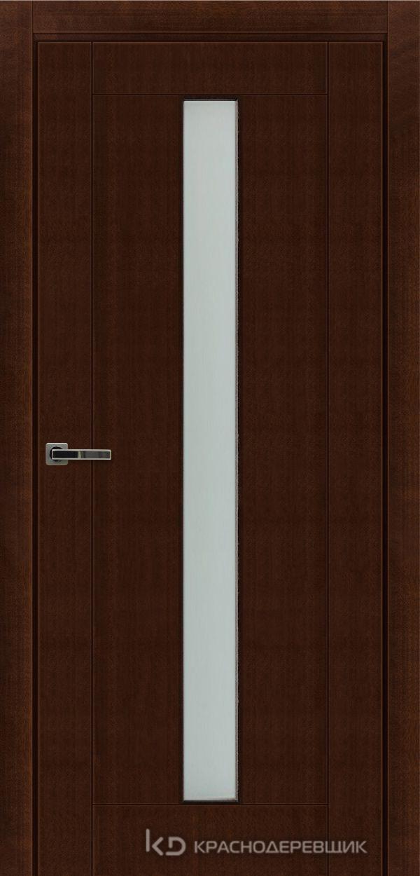 Дверь ДО мод 8002, 2000*800, КофеКурупШпон, пр/левРаспашн, Зам-Bon, 2 СкрПетлиOtlav, МатТрипл