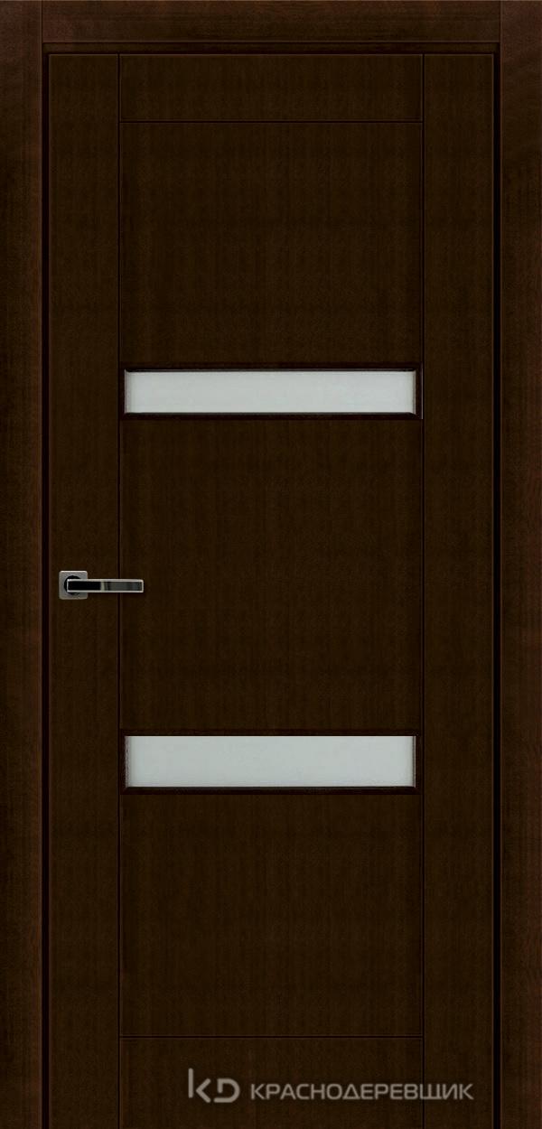 Дверь ДО мод 8006, 2000*800, КофеКурупШпон, пр/левРаспашн, Зам-Bon, 2 СкрПетлиOtlav, МатТрипл