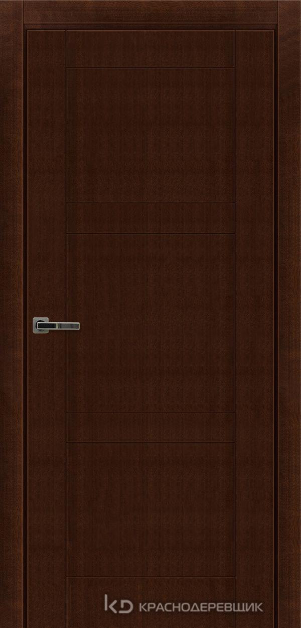Дверь ДГ мод 8000, 2000*800, КофеКурупШпон, Без фурнитуры