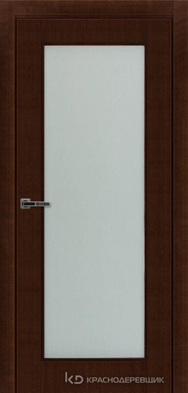 Дверь ДО мод 8004, 2000*800, КофеКурупШпон, Без фурнитуры, МатТрипл