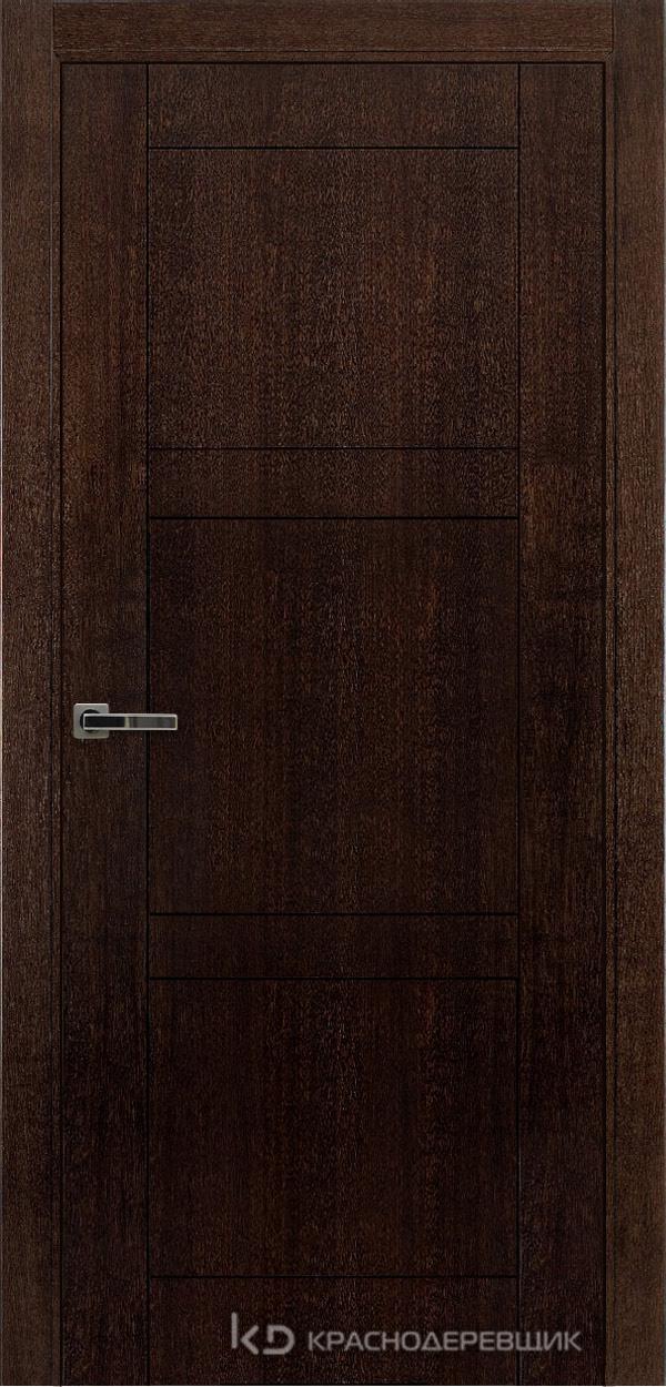 Дверь ДГ мод 8000, 2000*800, МореныйШпонДуба, Без фурнитуры