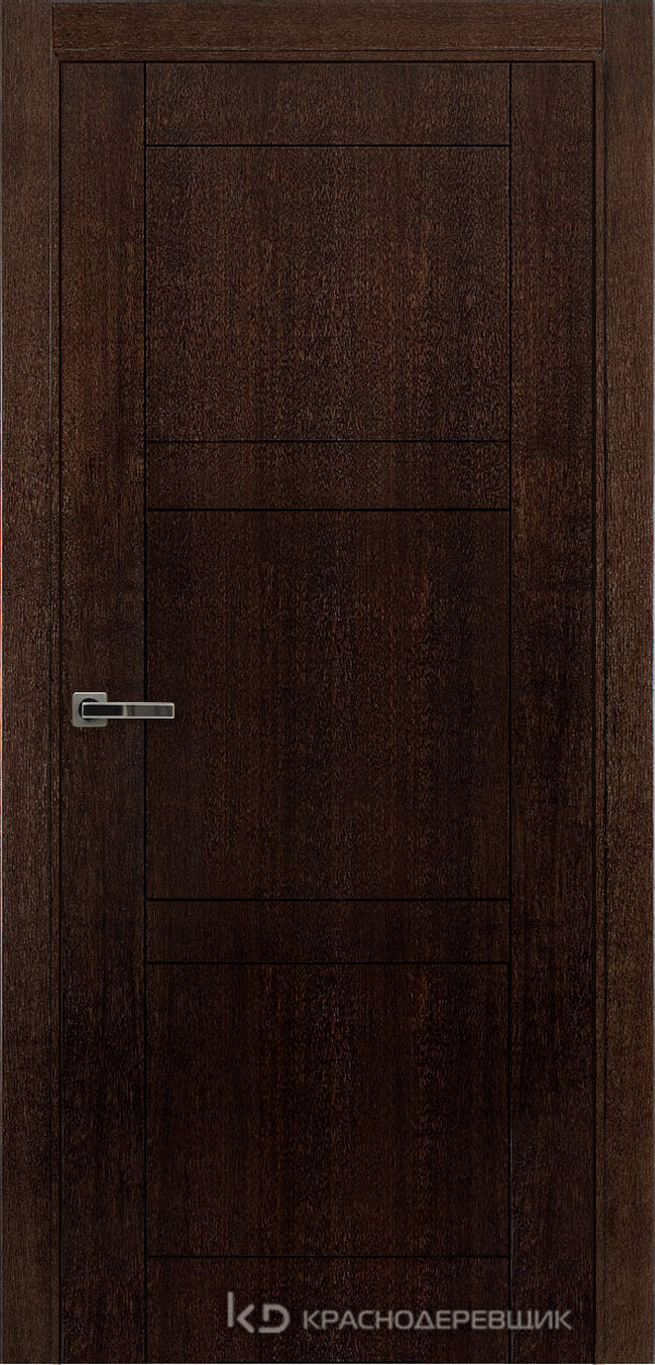 Дверь ДГ мод 8000, 2000*900, МореныйШпонДуба, Без фурнитуры