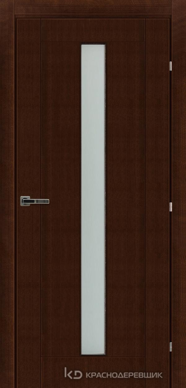 Дверь ДО мод 8302, 2000*800, КофеКурупШпон, пр/левРаспашн, Зам-Bon, 3 ввертн петли, МатТрипл