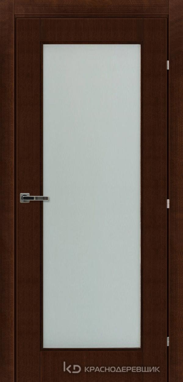 Дверь ДО мод 8304, 2000*800, КофеКурупШпон, пр/левРаспашн, Зам-Bon, 3 ввертн петли, МатТрипл