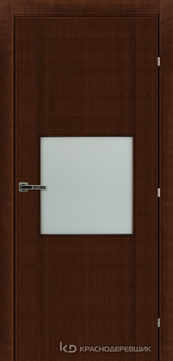 Дверь ДО мод 8308, 2000*800, КофеКурупШпон, пр/левРаспашн, Зам-Bon, 3 ввертн петли, МатТрипл