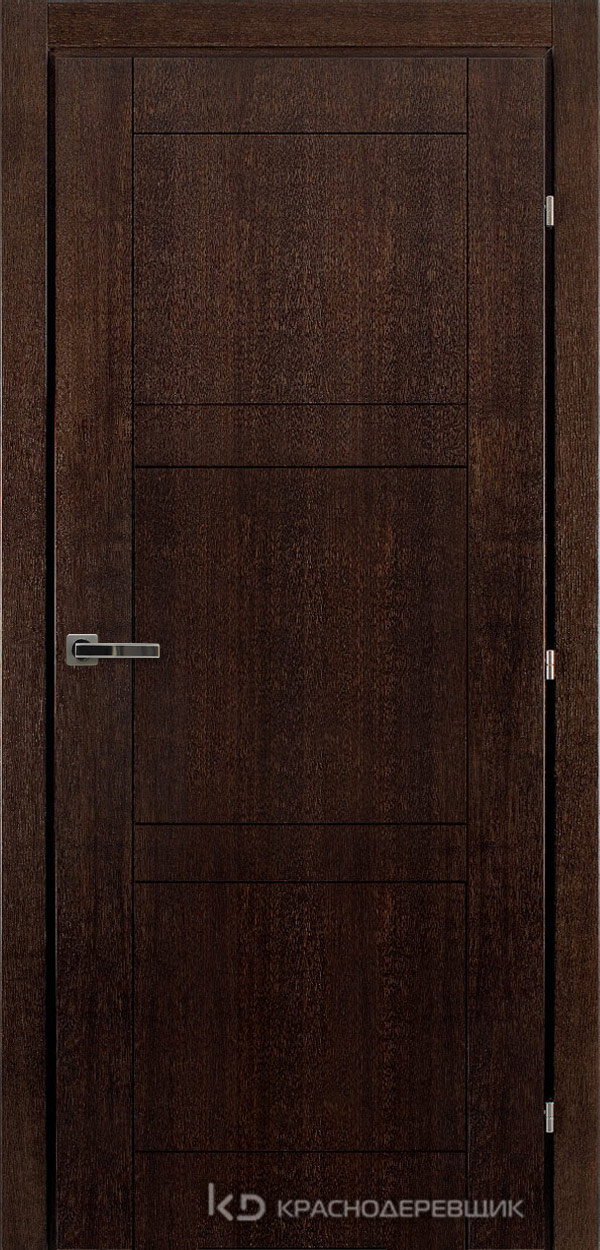 Дверь ДГ мод 8300, 2000*800, МореныйШпонДуба, пр/левРаспашн, Зам-Bon, 3 ввертн петли