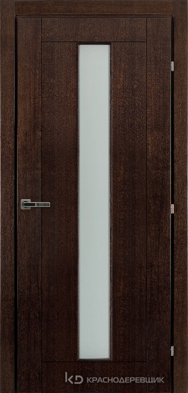 Дверь ДО мод 8302, 2000*800, МореныйШпонДуба, пр/левРаспашн, Зам-Bon, 3 ввертн петли, МатТрипл