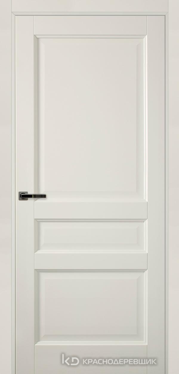 Экселент БелыйПП Дверь Э33 ДГ, 21- 9, с магн.замком AGB B041035034 п/цил, хром и 2 скр.петли IN301090, Прямой притвор