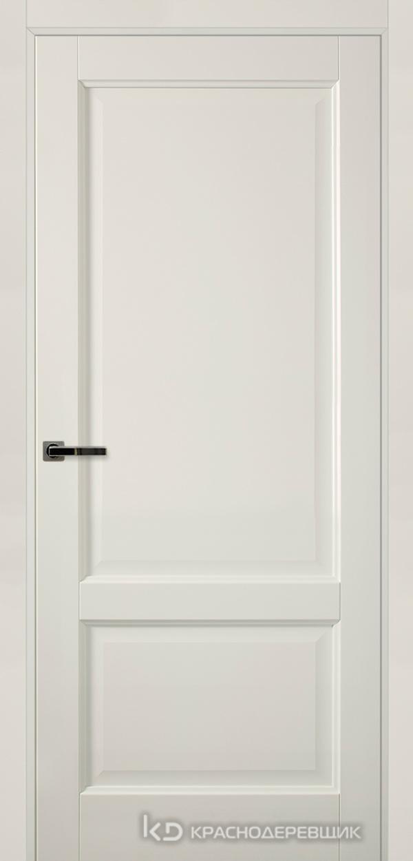 Экселент БелыйПП Дверь Э23 ДГ, 21- 9, с мех.замком RENZ INLB96PLINDC п/фикс, хром; 2 скр.петли IN301090, Прямой притвор
