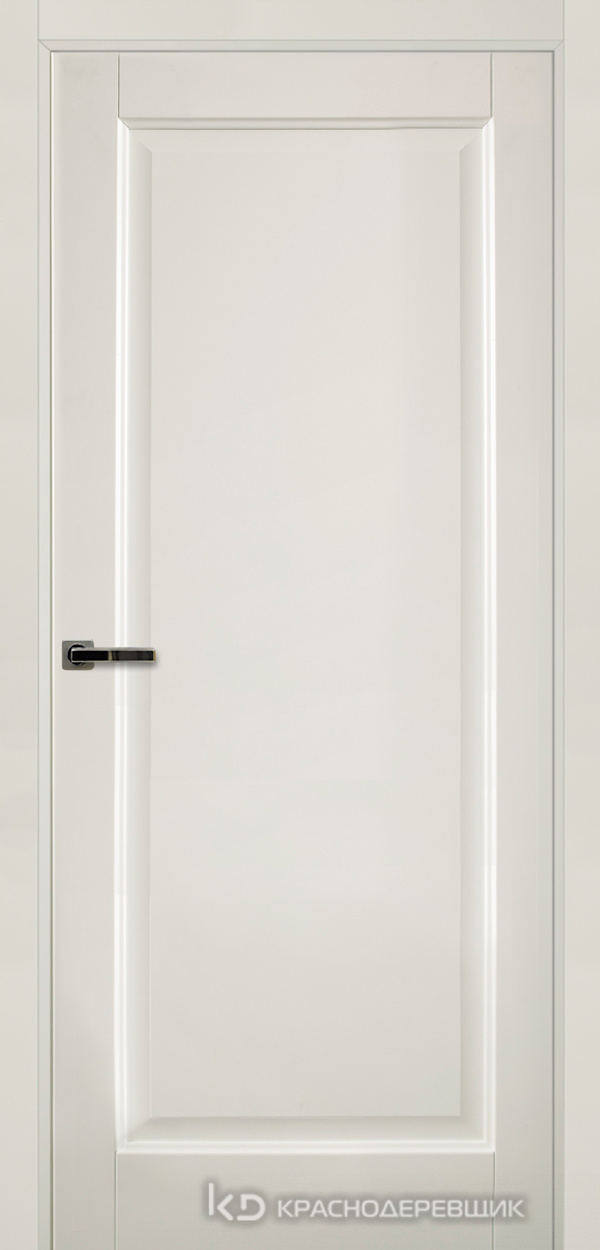 Экселент БелыйПП Дверь Э39 ДГ, 21- 9, с мех.замком RENZ INLB96PLINDC п/фикс, хром; 2 скр.петли IN301090, Прямой притвор