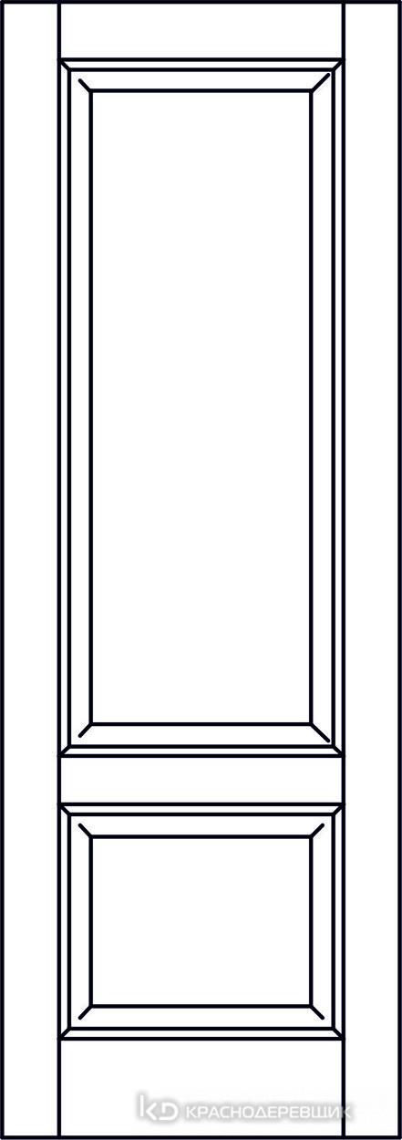 Экселент ДубГрафитPVC Дверь Э23 ДГ, 21- 9, Без фурн/фрез, Прямой притвор