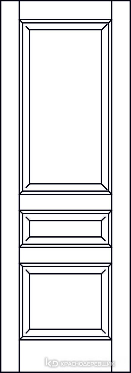 Экселент ДубГрафитPVC Дверь Э33 ДГ, 21- 9, Без фурн/фрез, Прямой притвор