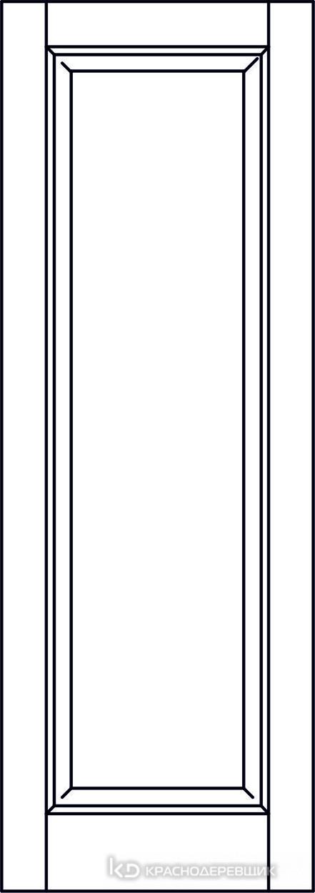 Экселент ДубГрафитPVC Дверь Э39 ДГ, 21- 9, Без фурн/фрез, Прямой притвор
