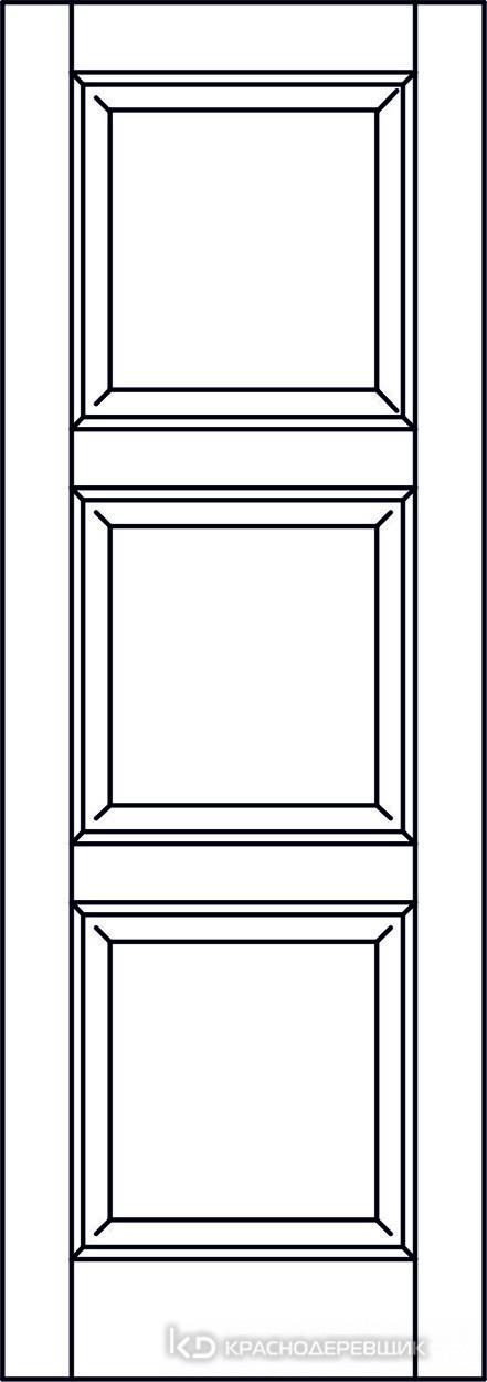 Экселент ДубГрафитPVC Дверь Э53 ДГ, 21- 9, Без фурн/фрез, Прямой притвор