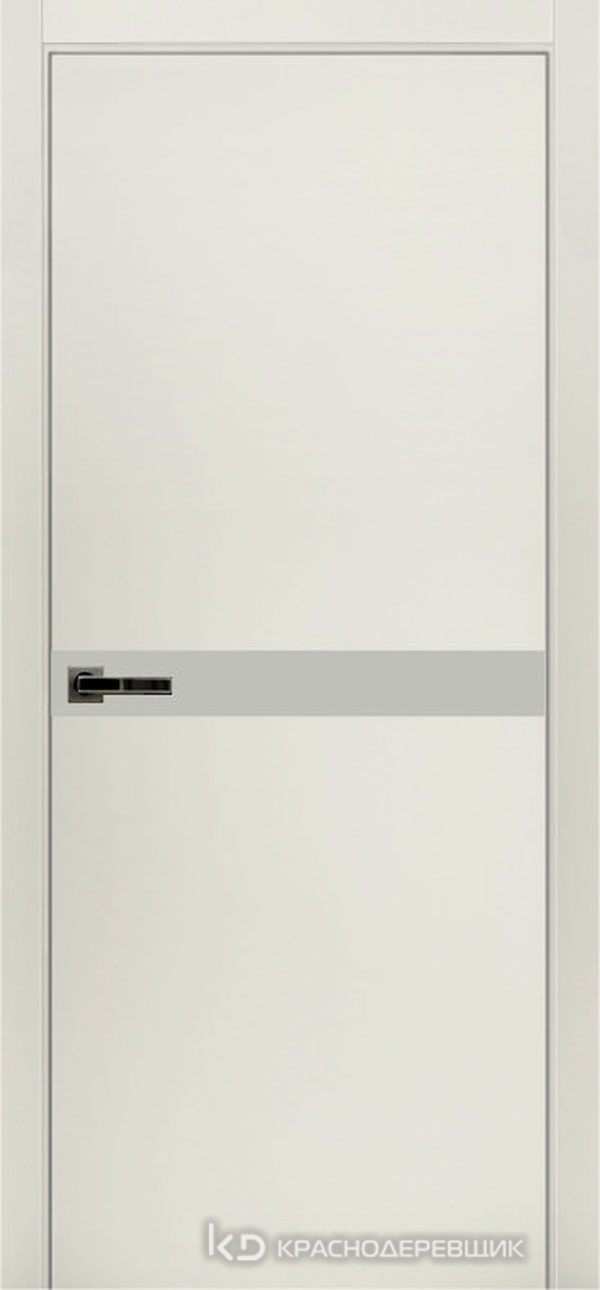 Экселент БелыйCPL Дверь ЭМ12 ДО, 21- 9, LacobelБелый, Без фурн/фрез, Прямой притвор