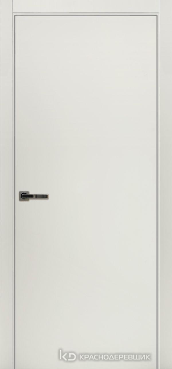 Экселент БелыйCPL Дверь ЭМ00 ДГ, 21- 9, с мех.замком RENZ INLB96PLINDC п/фикс, хром; Без фрезеровки под петли, Прямой притвор