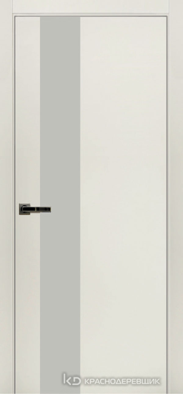 Экселент БелыйCPL Дверь ЭМ10 ДО, 21- 9 LacobelБелый, с мех.замком RENZ INLB96PLINDC п/фикс, хром; 2 скр.петли IN301090, Прямой притвор