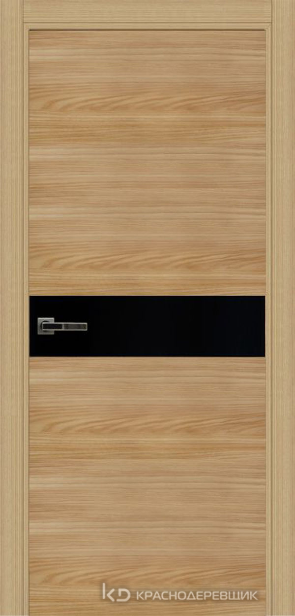 Экселент ИльмSL горизонт Дверь ЭМ11 ДО, 21- 9, LacobelЧерный, с магн.замком AGB B041035034 п/цил, хром и 2 скр.петли IN301090, Прямой притвор