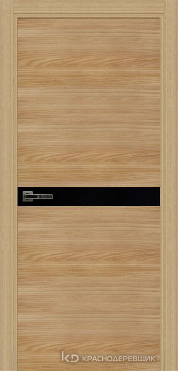 Экселент ИльмSL горизонт Дверь ЭМ12 ДО, 21- 9, LacobelЧерный, с мех.замком RENZ INLB96PLINDC п/фикс, хром; 2 скр.петли IN301090, Прямой притвор